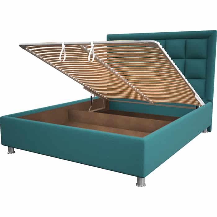 Кровать OrthoSleep Альба menthol механизм и ящик 180x200