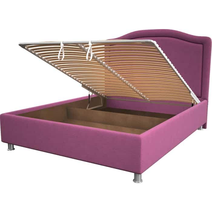 Кровать OrthoSleep Калифорния pink механизм и ящик 80x200