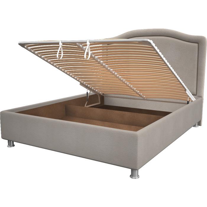 Кровать OrthoSleep Калифорния camel механизм и ящик 140x200
