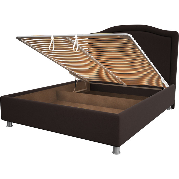 Кровать OrthoSleep Калифорния chocolate механизм и ящик 140x200