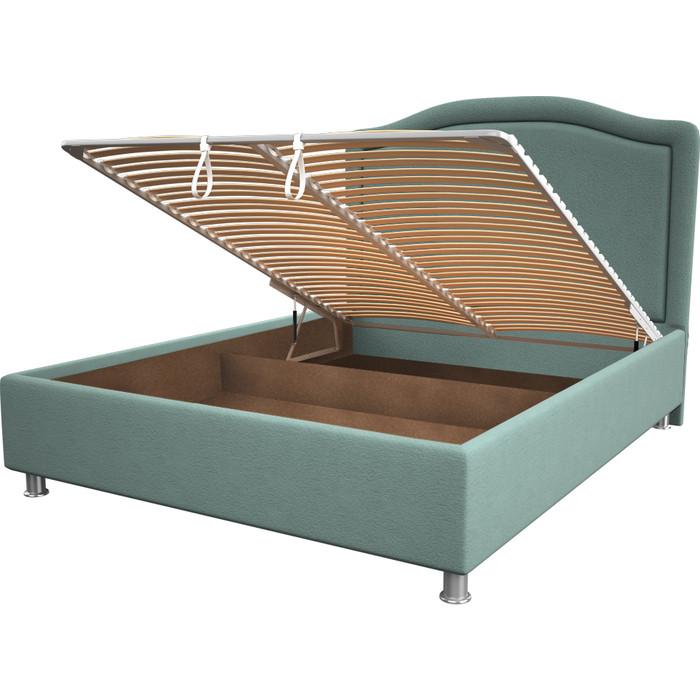 Кровать OrthoSleep Калифорния aqumarine механизм и ящик 160x200