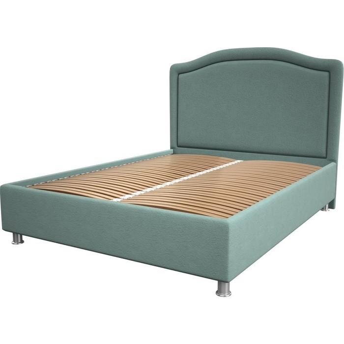 Кровать OrthoSleep Калифорния aqumarine ортопед. основание 200x200 кровать orthosleep калифорния chocolate ортопед основание 200x200