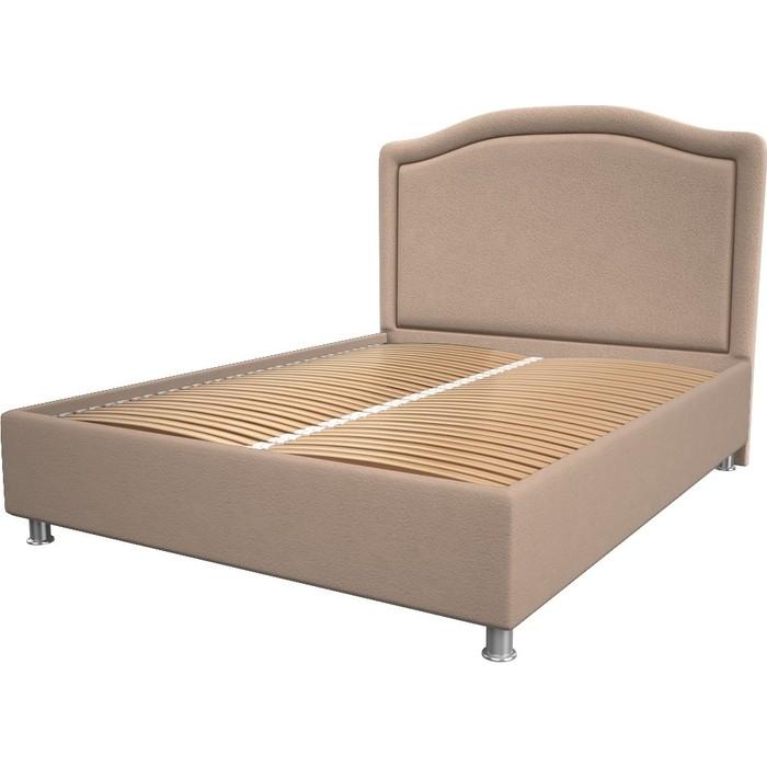Кровать OrthoSleep Калифорния cream ортопед. основание 200x200 кровать orthosleep калифорния chocolate ортопед основание 200x200