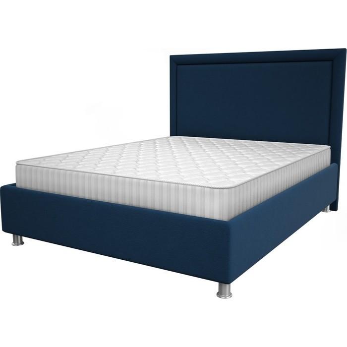 Кровать OrthoSleep Нью-Йорк blue жесткое основание 200x200