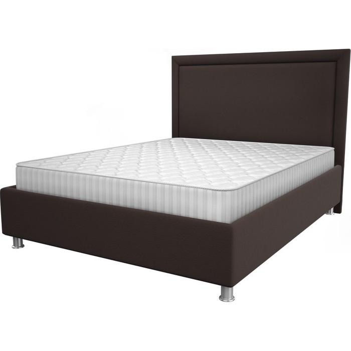 Кровать OrthoSleep Нью-Йорк chocolate жесткое основание 200x200