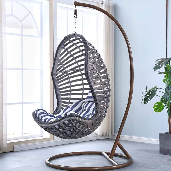 Подвесное кресло Afina garden AFM-810G grey