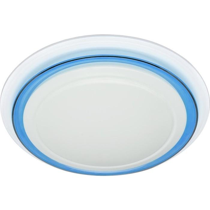 Потолочный светодиодный светильник ЭРА SPB-6-24-3K Classic синий кант