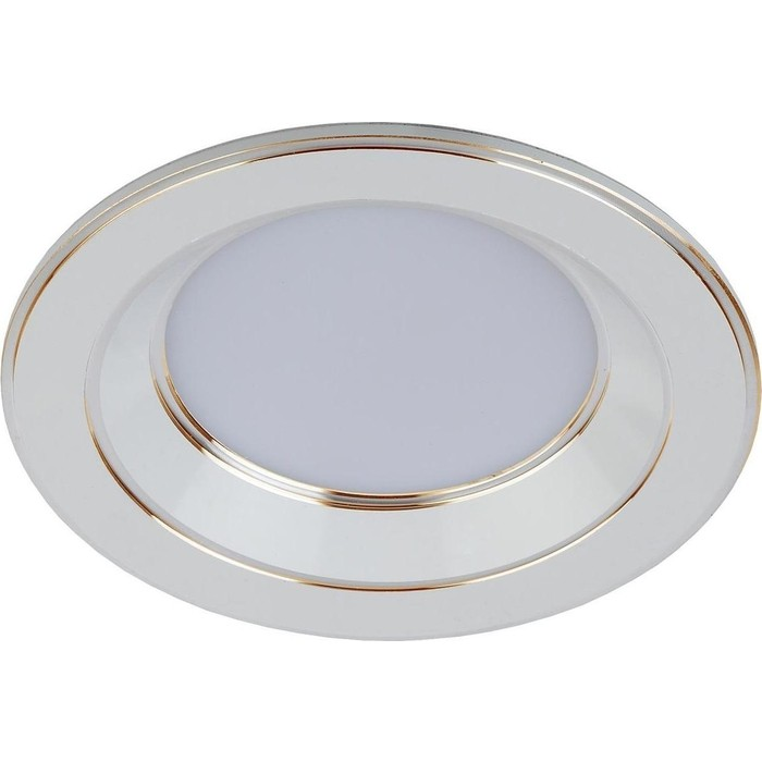 Встраиваемый светильник ЭРА KL LED 15-5 WH/GD
