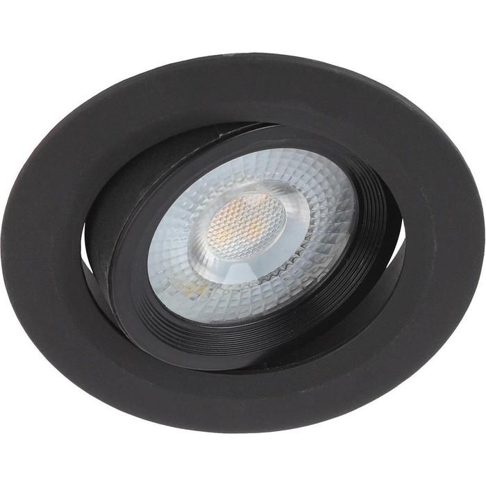 Встраиваемый светильник ЭРА KL LED 22A-5 4K BK