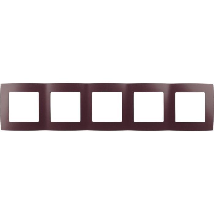 Рамка 5-постовая ЭРА 12-5005-25