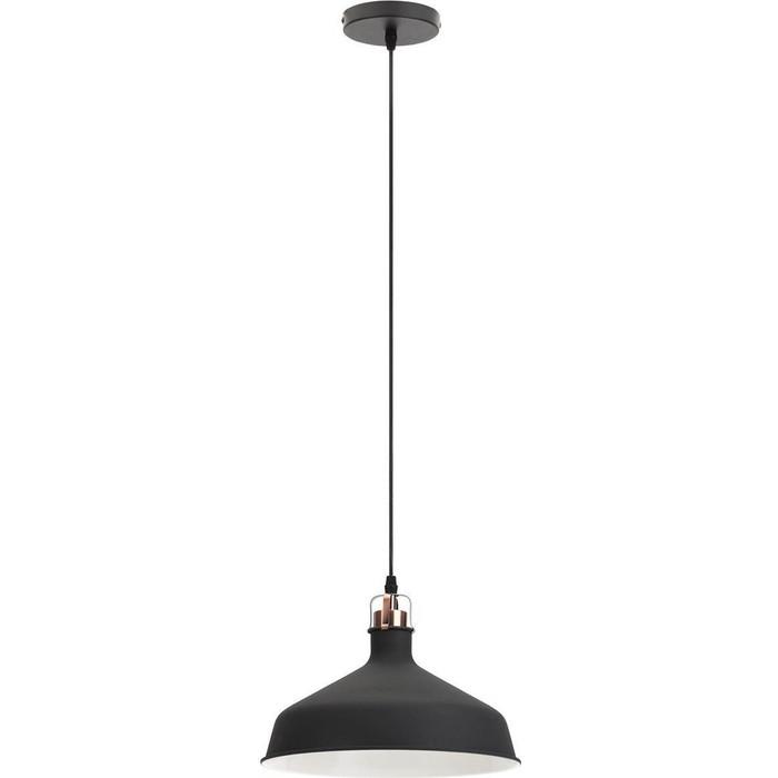 Подвесной светильник ЭРА PL2 BK/RC
