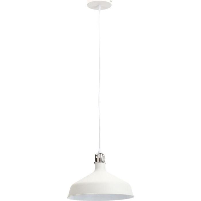 Подвесной светильник ЭРА PL2 WH/SN