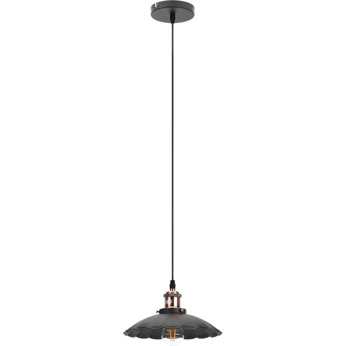 Подвесной светильник ЭРА PL3 BK/RC