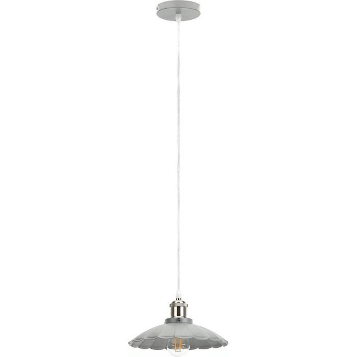Подвесной светильник ЭРА PL3 GR/SN