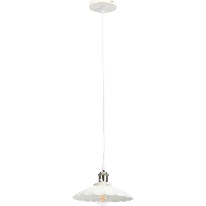 Подвесной светильник ЭРА PL3 WH/SN
