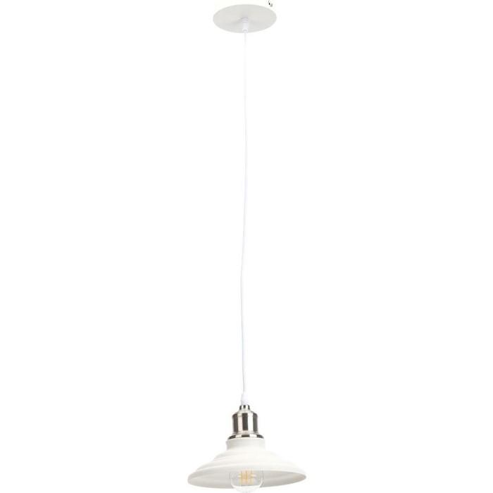 Подвесной светильник ЭРА PL4 WH/SN