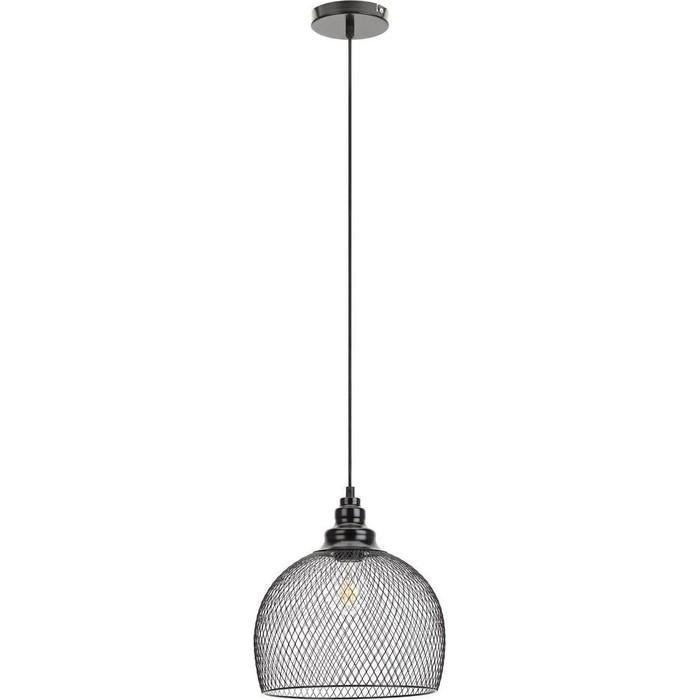 Подвесной светильник ЭРА PL7 BK