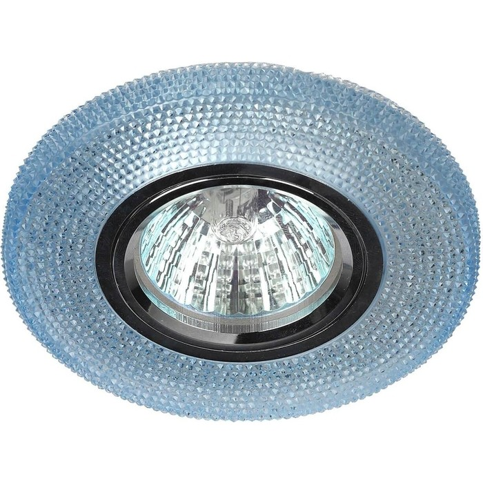 Фото - Встраиваемый светильник ЭРА DK LD1 BL встраиваемый светильник эра dk led 12 6 bl