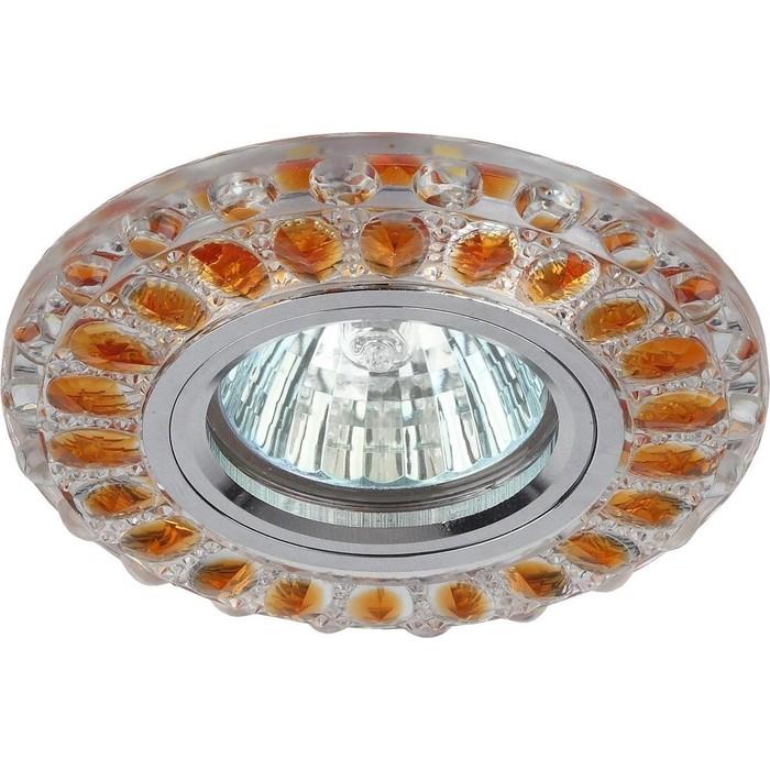 Встраиваемый светильник ЭРА DK LD10 SL OR/WH