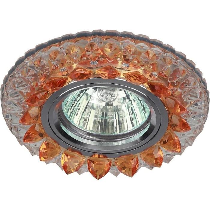 Встраиваемый светильник ЭРА DK LD19 SL OR/WH