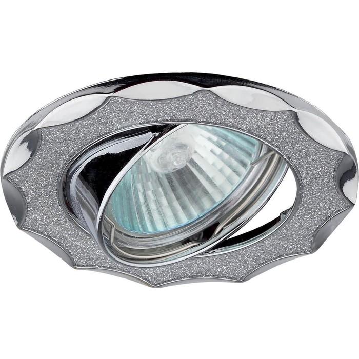 Встраиваемый светильник ЭРА DK17 CH/SH SL