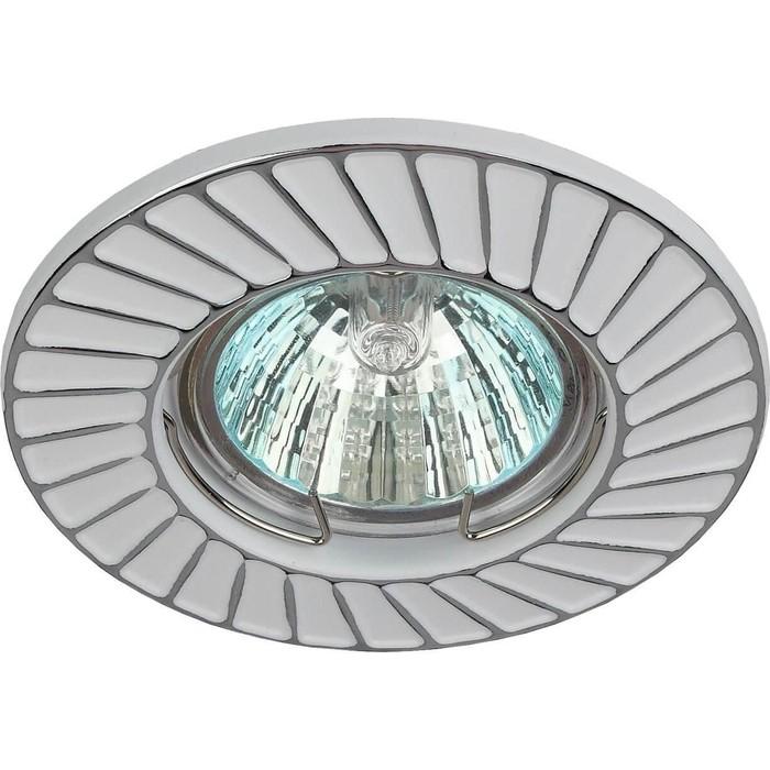 Встраиваемый светильник ЭРА ST6 CH/WH