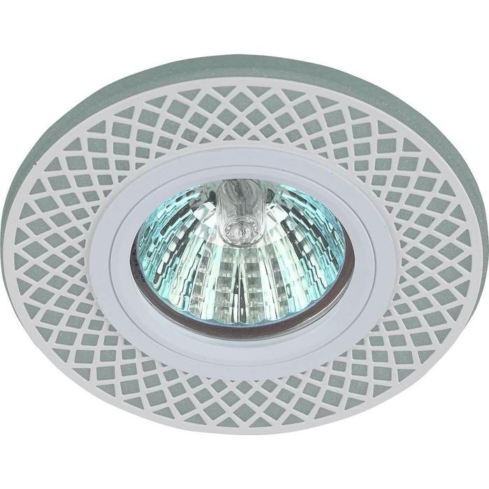 Точечный светильник ЭРА DK LD42 WH/WH