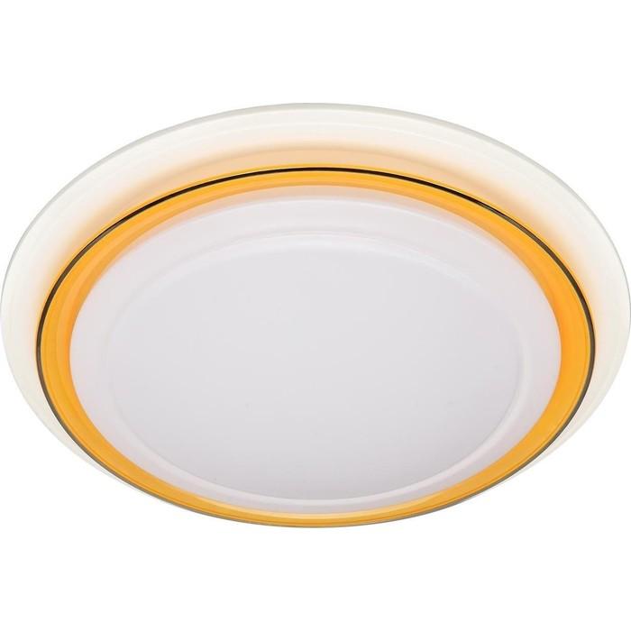 Потолочный светодиодный светильник ЭРА SPB-6-24-3K Classic желтый Кант