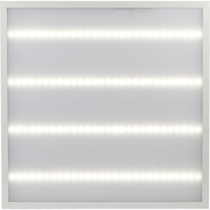 Встраиваемый светодиодный светильник ЭРА SPO-6-48-6K-M (4) светодиодный светильник эра spp 2 18 6k m 6500к матовый 60 х 7 6 см