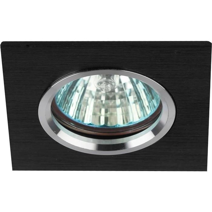 Встраиваемый светильник ЭРА KL57 SL/BK