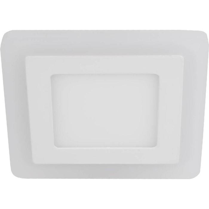 Встраиваемый светодиодный светильник ЭРА LED 4-6 BL