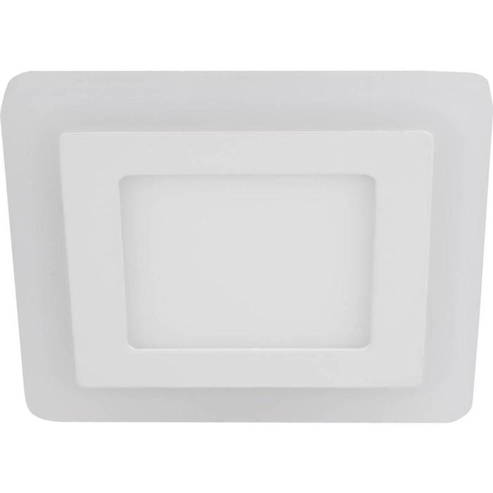 Встраиваемый светодиодный светильник ЭРА LED 4-9 BL