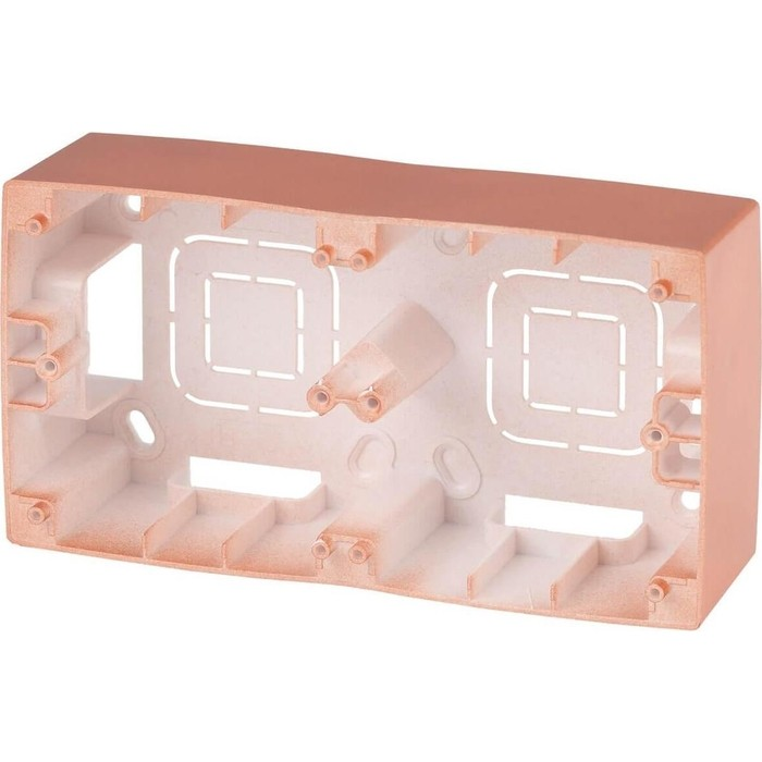 Фото - Коробка для накладного монтажа 2-постовая ЭРА 12-6102-14 инвертор ritmix rpi 6102
