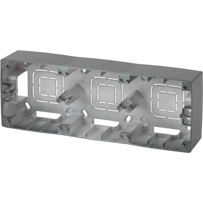 Коробка для накладного монтажа 3-постовая ЭРА 12-6103-12