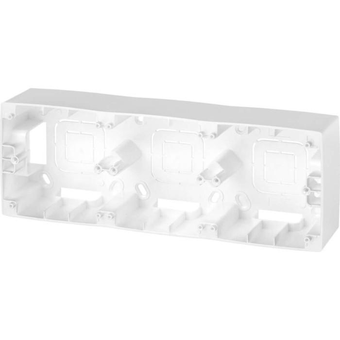 Коробка для накладного монтажа 3-постовая ЭРА 12-6103-15