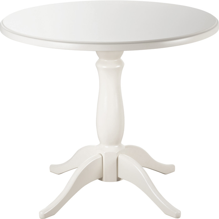 Стол Мебелик Мауро белый 90х90