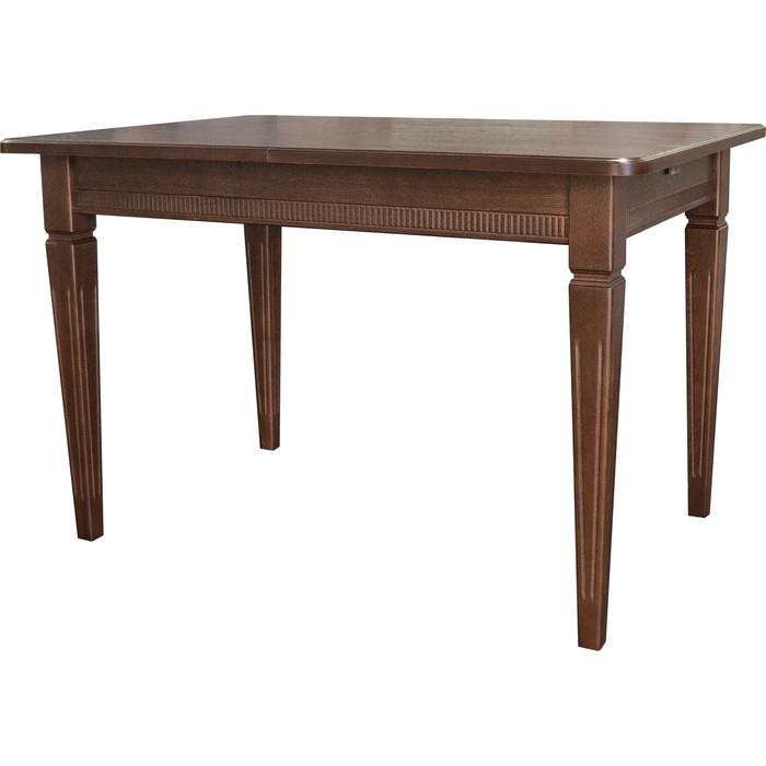 Стол обеденный Мебелик Васко В 87Н орех 150/200x90