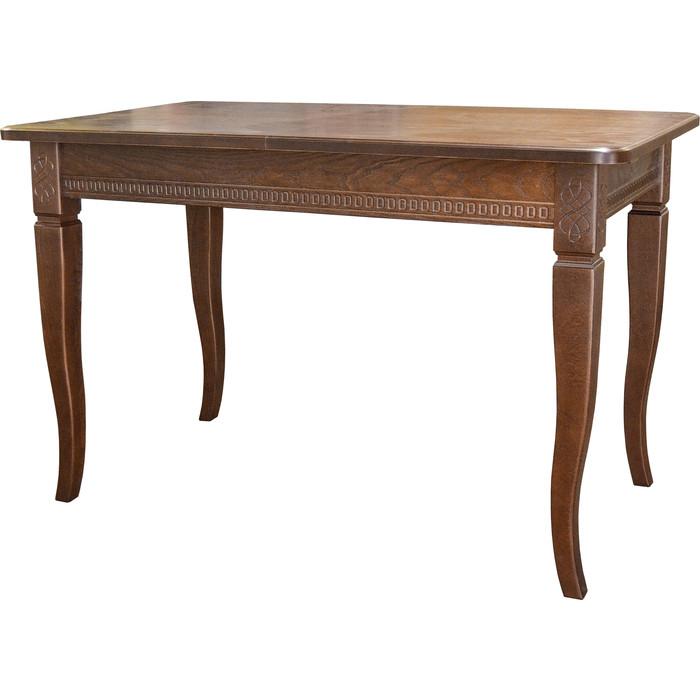 Стол обеденный Мебелик Фидея 3 орех 120/160x70