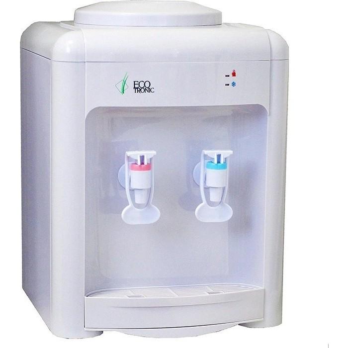 Кулер для воды настольный Ecotronic H2-TE white