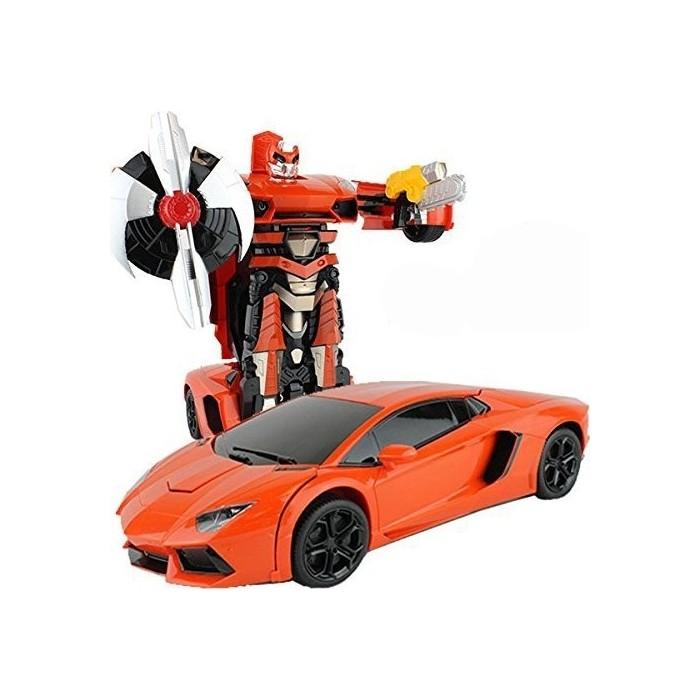 Радиоуправляемый трансформер MZ Model Lamborghini Aventodor Orange 1:14 - 2321P