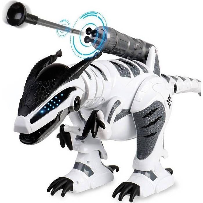 Фото - Радиоуправляемый робот-динозавр Zhorya Тирекс - ZYB-B2855 радиоуправляемый робот zhorya интерактивный белый кот 2059