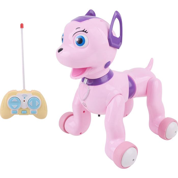 Радиоуправляемая собачка Zhorya Долматинец, розовый - ZYB-B2997-5