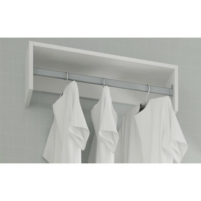 Вешалка Manhattan Comfort Clean 1.0 bs 30-06 white xo bs 2 white
