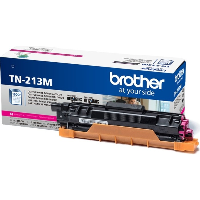 Картридж Brother TN-213M пурпурный 1300 стр.