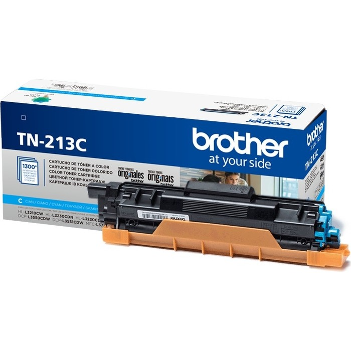 Картридж Brother TN-213C голубой 1300 стр.