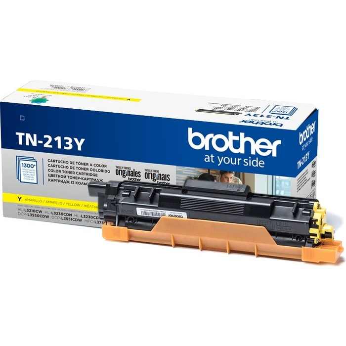 Картридж Brother TN-213Y желтый 1300 стр.