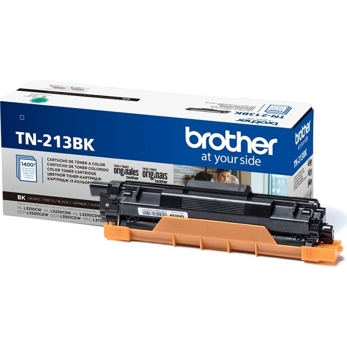 Картридж Brother TN-213BK черный 1400 стр.