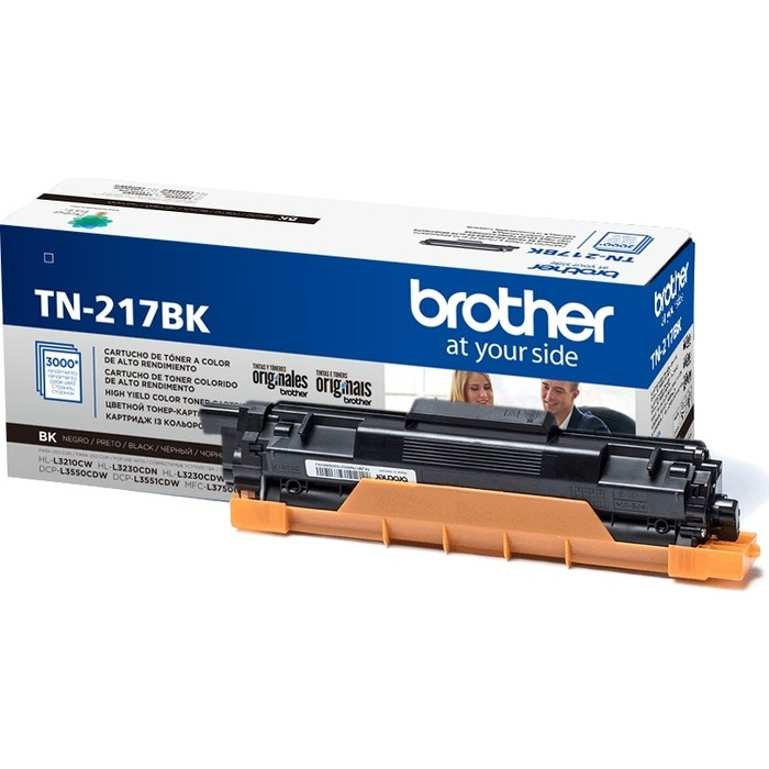 Картридж Brother TN-217BK черный 3000 стр.
