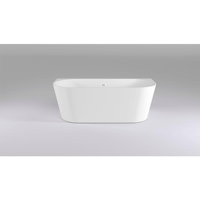 Акриловая ванна Black&White Swan 170x80 каркас, слив-перелив push-open (116SB00)