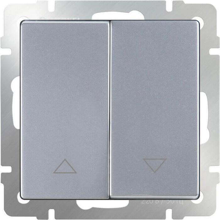 Выключатель Werkel WL06-01-02 серебряный